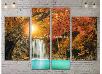 Модульные картины пейзажи, Art. NATA777269