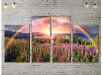 Модульные картины пейзажи, Art. NATA777271