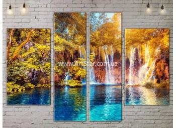 Модульные картины пейзажи, Art. NATA777273