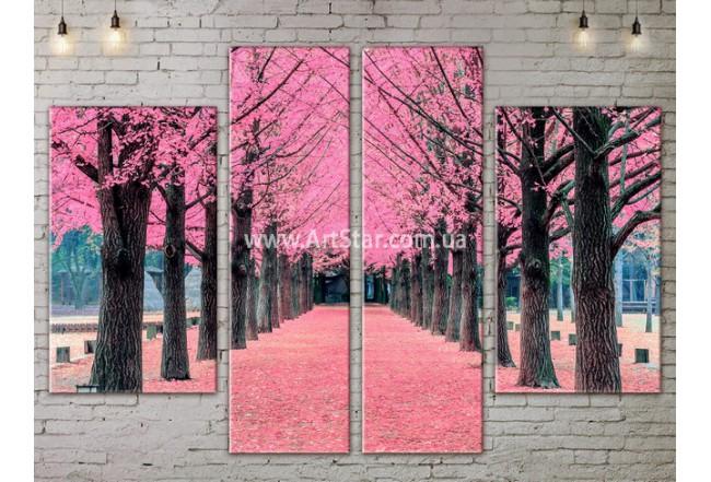Модульные картины пейзажи, Art. NATA777275