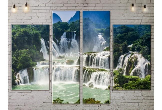 Модульные картины пейзажи, Art. NATA777279