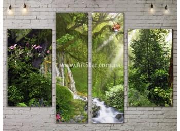 Модульные картины пейзажи, Art. NATA777281