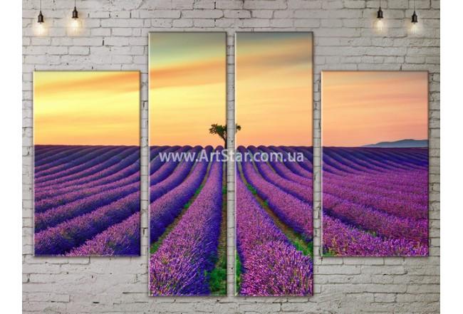 Модульные картины пейзажи, Art. NATA777289