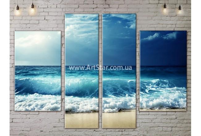 Модульные картины пейзажи, Art. NATA777315
