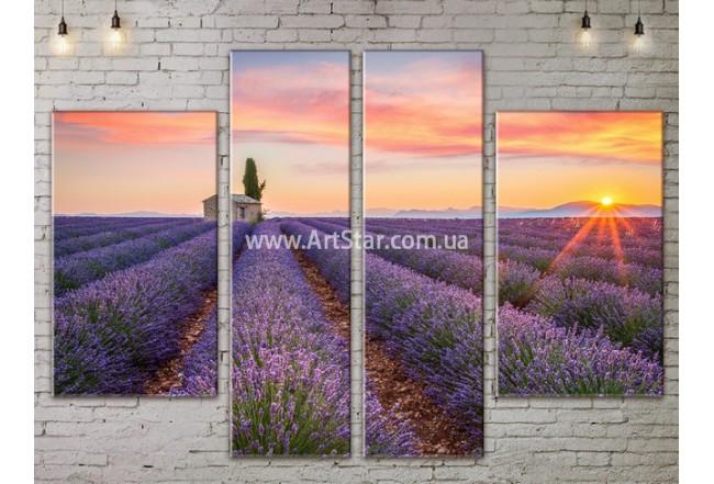 Модульные картины пейзажи, Art. NATA777317