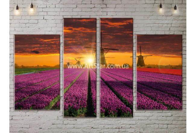 Модульные картины пейзажи, Art. NATA777319