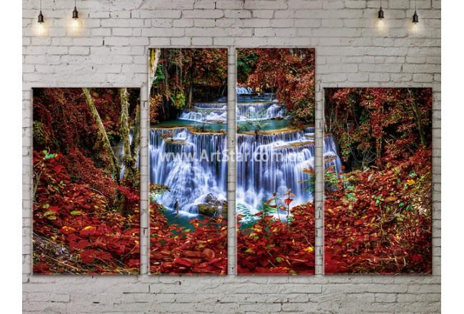 Модульные картины пейзажи, Art. NATA777325