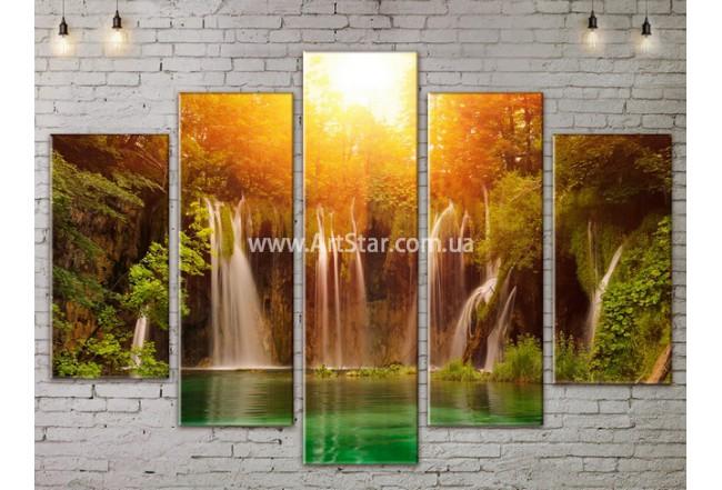 Модульные картины пейзажи, Art. NATA777335