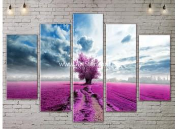 Модульные картины пейзажи, Art. NATA777361
