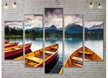 Модульные картины пейзажи, Art. NATA777365