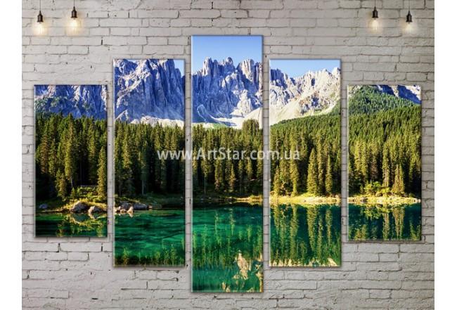 Модульные картины пейзажи, Art. NATA777367