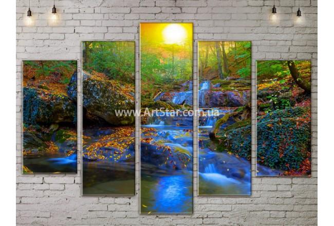Модульные картины пейзажи, Art. NATA777369