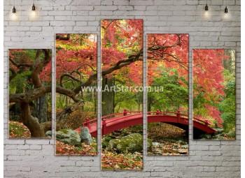 Модульные картины пейзажи, Art. NATA777373