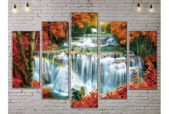 Модульные картины пейзажи, Art. NATA777397