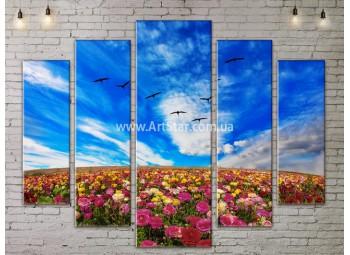 Модульные картины пейзажи, Art. NATA777405