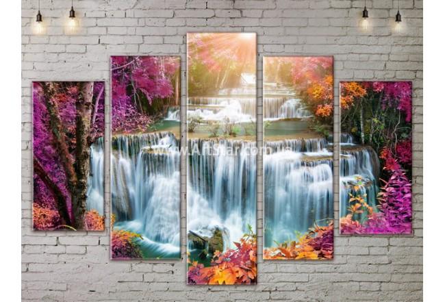 Модульные картины пейзажи, Art. NATA777415