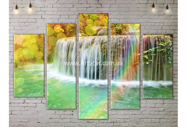 Модульные картины пейзажи, Art. NATA777419
