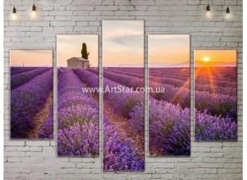 Модульные картины пейзажи, Art. NATA777421
