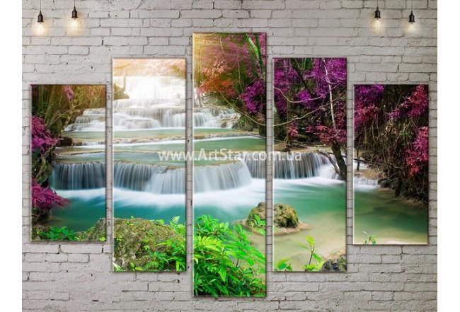 Модульные картины пейзажи, Art. NATA777423