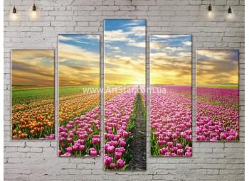 Модульные картины пейзажи, Art. NATA777425