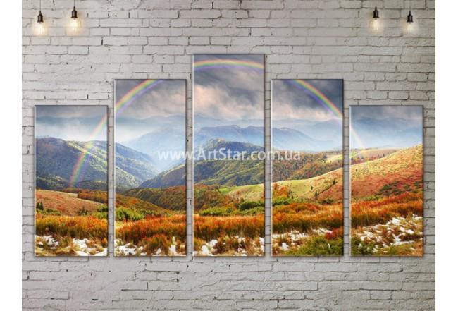 Модульные картины пейзажи, Art. NATA777429