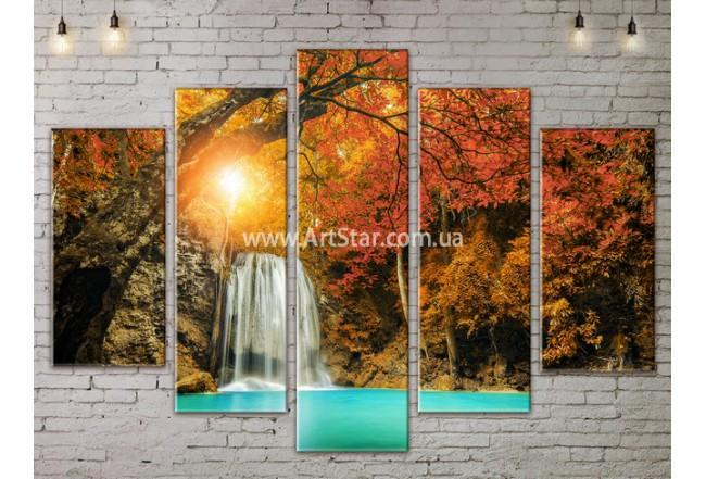 Модульные картины пейзажи, Art. NATA777433