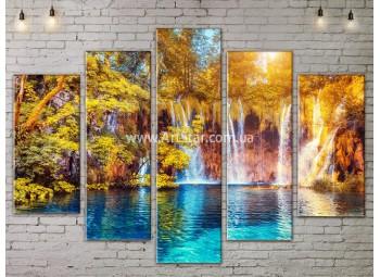 Модульные картины пейзажи, Art. NATA777437
