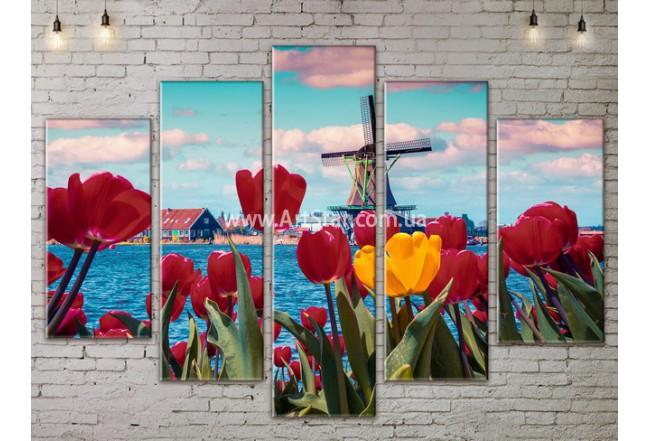 Модульные картины пейзажи, Art. NATA777441