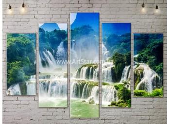 Модульные картины пейзажи, Art. NATA777451