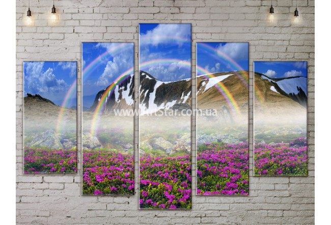 Модульные картины пейзажи, Art. NATA777455