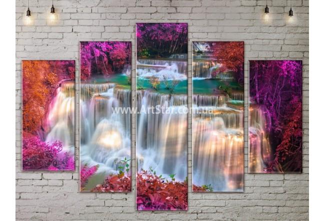 Модульные картины пейзажи, Art. NATA777461