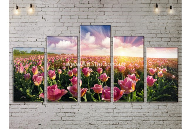 Модульные картины пейзажи, Art. NATA777463