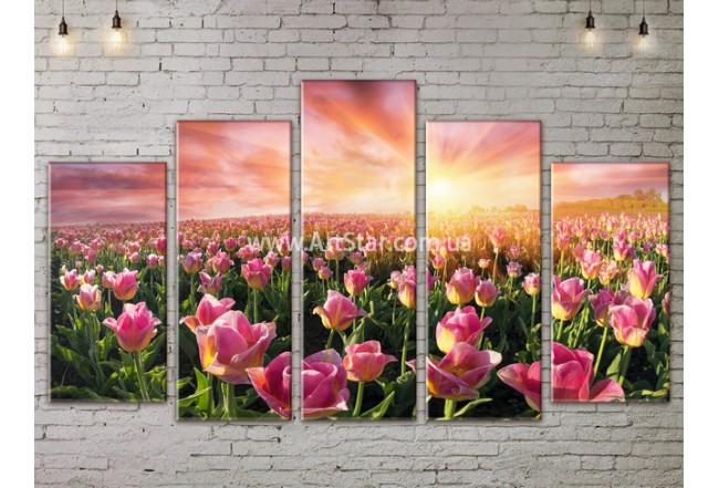 Модульные картины пейзажи, Art. NATA777465