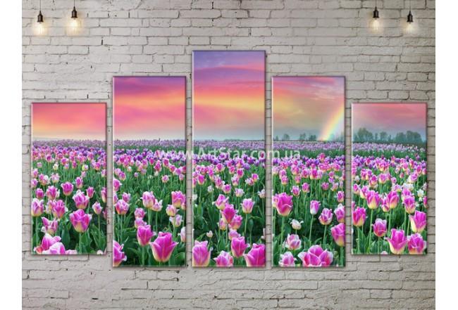 Модульные картины пейзажи, Art. NATA777467
