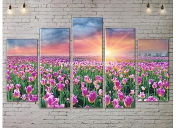 Модульные картины пейзажи, Art. NATA777471