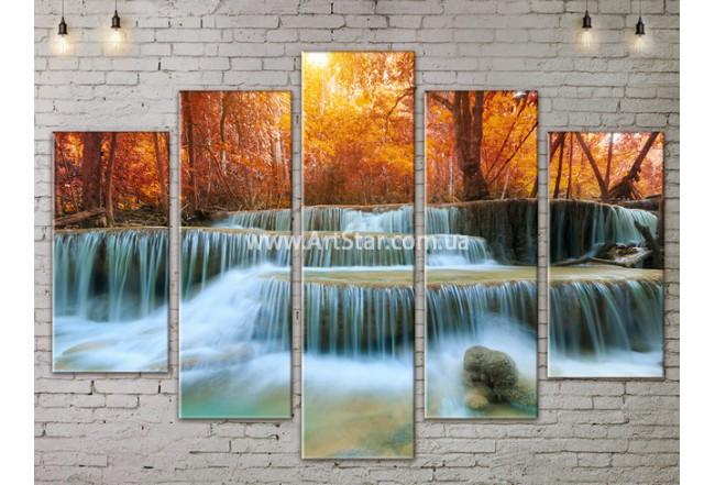 Модульные картины пейзажи, Art. NATA777477