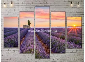 Модульные картины пейзажи, Art. NATA777481