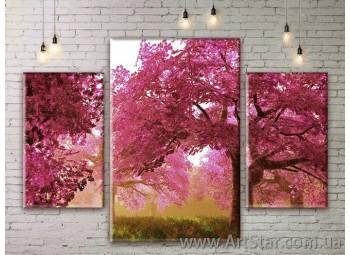 Модульные картины пейзажи, Art. NATM0031