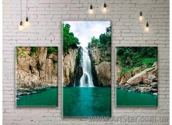Модульные картины пейзажи, Art. NATM0165