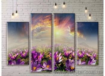 Модульные картины, пейзажи, Art. NATM0275