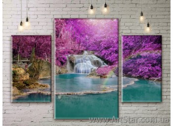 Модульные картины пейзажи, Art. NATM0285