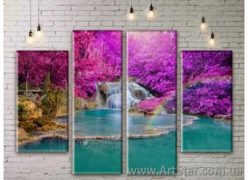 Модульные картины, пейзажи, Art. NATM0287