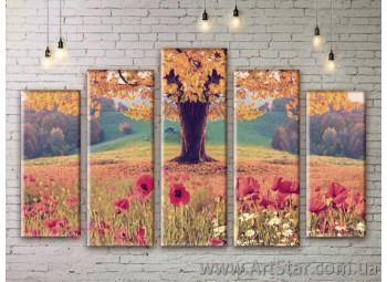 Модульные картины, пейзажи, Art. NATM0301
