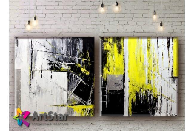 Модульные Картины, рисованные, маслом, Art. MHM17_2_005