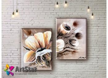 Модульные Картины, рисованные, маслом, Art. MHM17_2_015