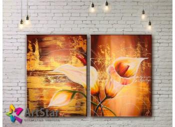 Модульные Картины, рисованные, маслом, Art. MHM17_2_021