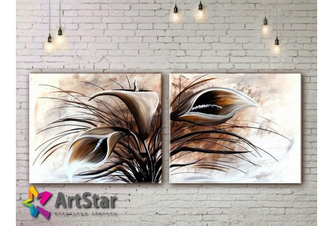 Модульные Картины, рисованные, маслом, Art. MHM17_2_031