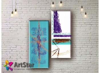 Модульные Картины, рисованные, маслом, Art. MHM17_2_033