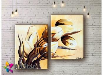 Модульные Картины, рисованные, маслом, Art. MHM17_2_047