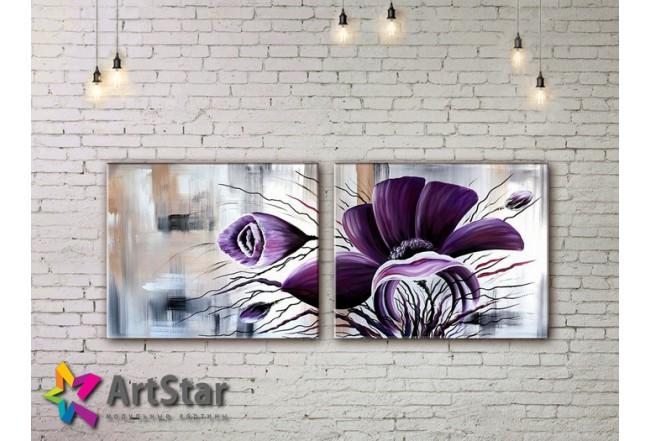 Модульные Картины, рисованные, маслом, Art. MHM17_2_067